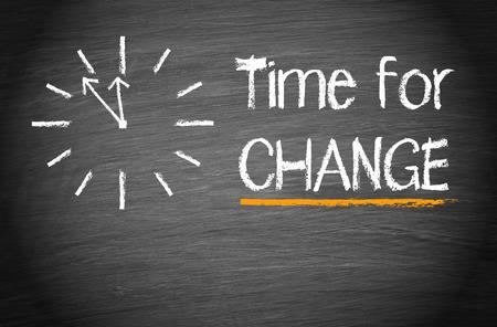 Photo pour Time for Change - image libre de droit