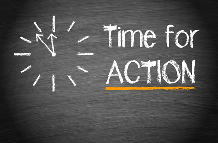 Foto de Time for action - Imagen libre de derechos