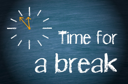 Foto de Time for a break - Imagen libre de derechos