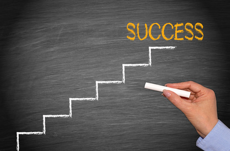 Photo for Success - Royalty Free Image