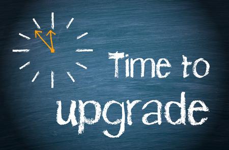 Foto de Time to upgrade - Imagen libre de derechos