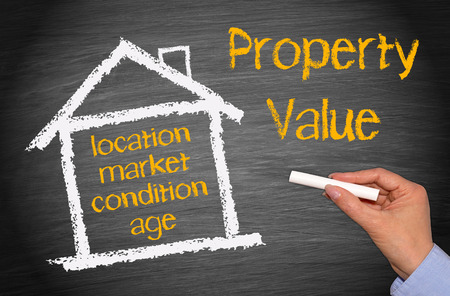 Photo for Property Value - Royalty Free Image