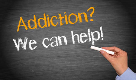 Foto de Addiction   - We can help   - Imagen libre de derechos