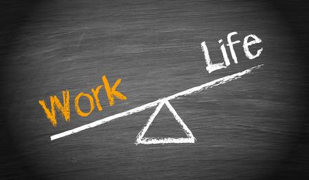Photo pour Work and Life Imbalance - image libre de droit