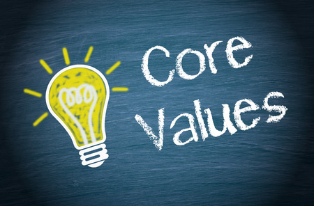 Photo for Core Values - Royalty Free Image