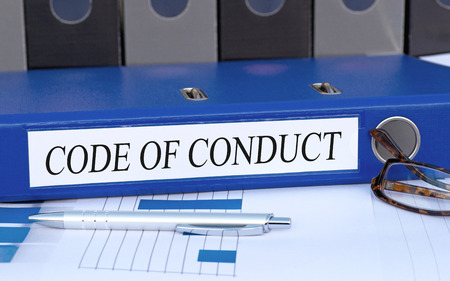 Photo for Code of Conduct - Royalty Free Image