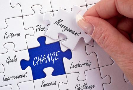 Foto de Change Management - Imagen libre de derechos