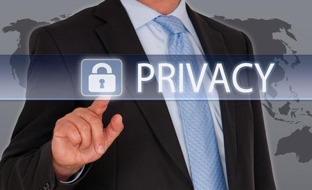 Photo pour Privacy - image libre de droit