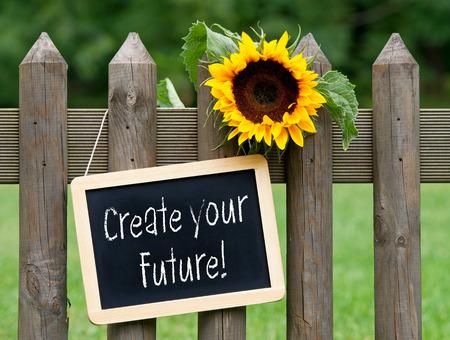 Foto de Create your Future ! - Imagen libre de derechos