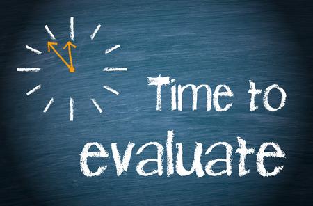 Foto de Time to evaluate - Imagen libre de derechos