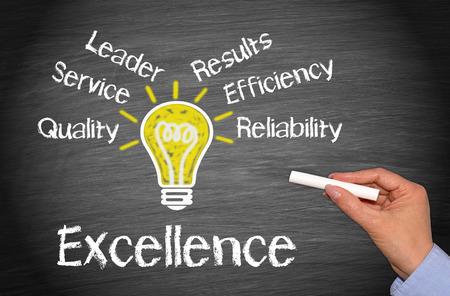Foto de Excellence - Business Concept - Imagen libre de derechos
