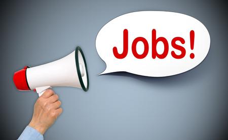 Foto de Jobs ! - Imagen libre de derechos