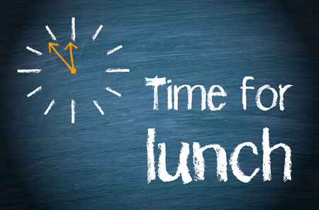 Photo pour Time for Lunch - image libre de droit