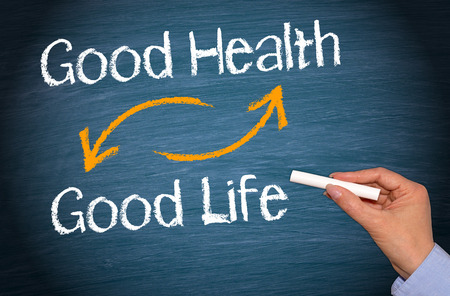 Photo pour Good Health and Good Life - image libre de droit