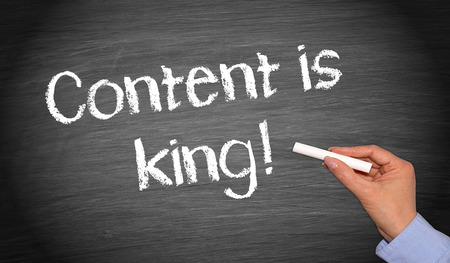 Photo for Content is king ! - Royalty Free Image