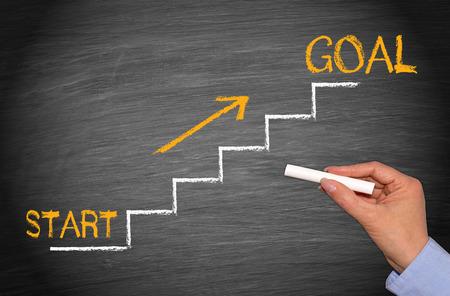 Photo pour Start and Goal - image libre de droit
