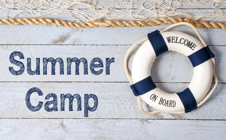 Photo pour Summer Camp - image libre de droit