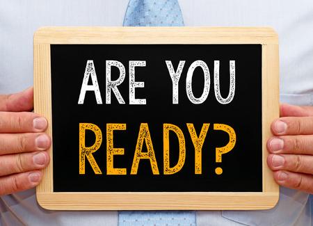 Photo pour Are you ready ? - image libre de droit