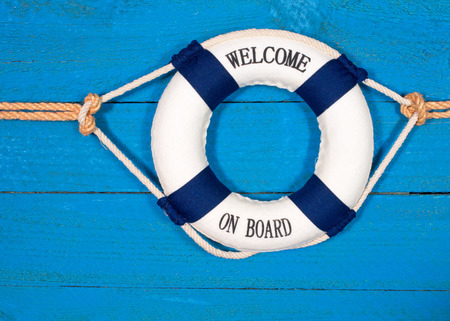 Foto per Welcome on Board - Immagine Royalty Free
