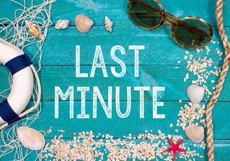 Foto de Last Minute Holidays - Imagen libre de derechos