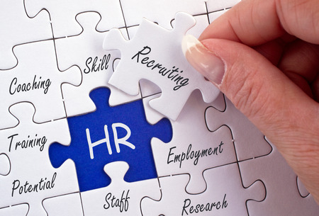 Photo for HR - Human Resources - Royalty Free Image