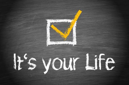 Foto de It is your Life - Imagen libre de derechos