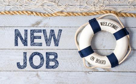 Photo pour New Job - Welcome on Board - image libre de droit