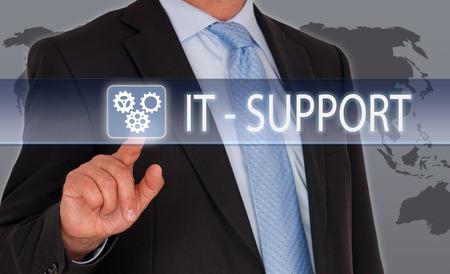 Foto für IT Support - Lizenzfreies Bild