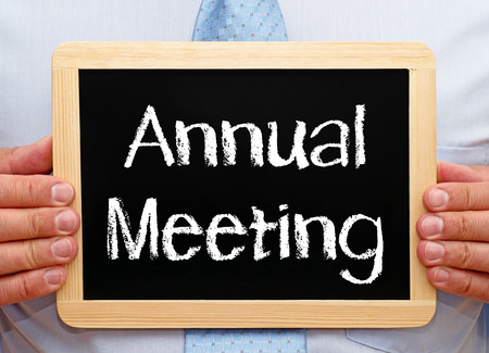 Photo for Annual Meeting - Royalty Free Image