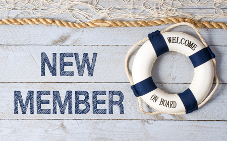 Photo for New Member - Welcome on Board - Royalty Free Image