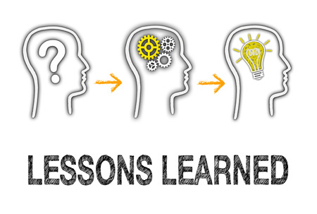 Foto de Lessons learned - Education Concept - Imagen libre de derechos