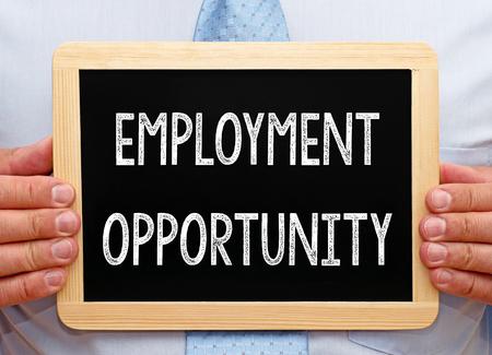 Photo pour Employment Opportunity - image libre de droit