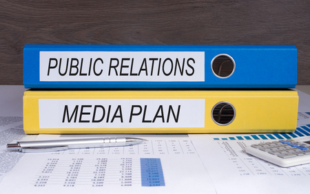 Photo for Public Relations and Media Plan - Royalty Free Image