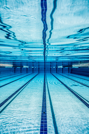 Photo for swimming pool under water ... - Royalty Free Image