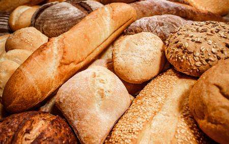 Foto de Breads and baked goods close-up - Imagen libre de derechos