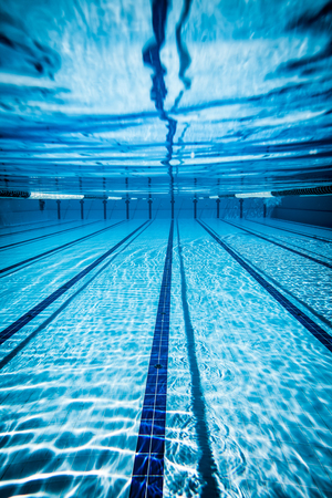 Photo for Swimming pool under water background - Royalty Free Image