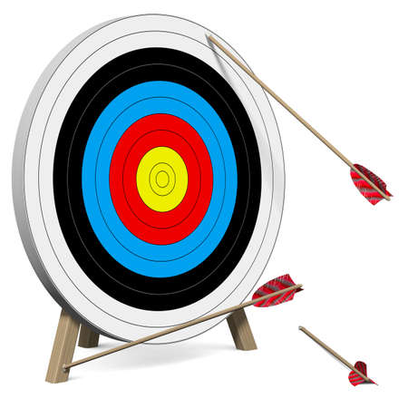 Photo for Arrows do not hit the Target - Royalty Free Image