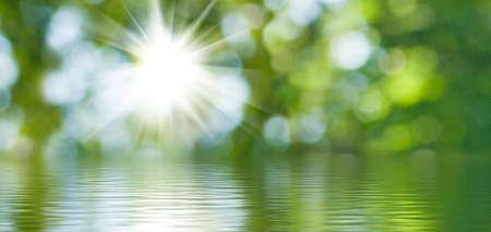 Foto de abstract image of nature water background closeup - Imagen libre de derechos