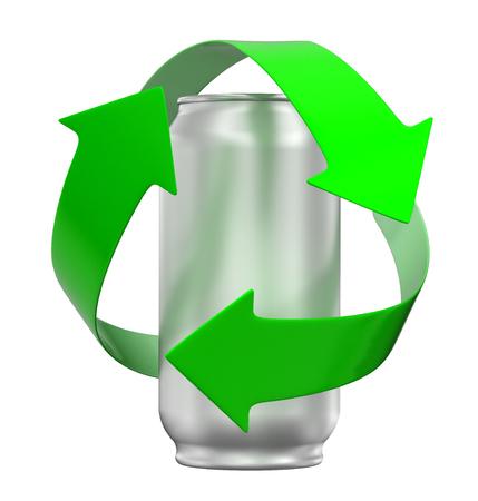 Foto de Recycling can - Imagen libre de derechos