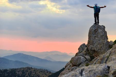Photo pour fighting spirit & way of success - image libre de droit