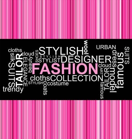 Foto de FASHION - Word collage - Imagen libre de derechos