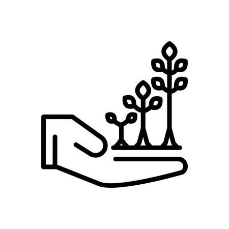 Illustration pour Icon for Grow,skyrocket - image libre de droit