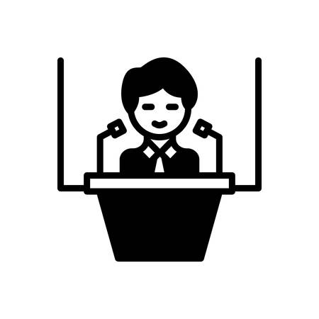 Illustration pour Icon for Conference,convention - image libre de droit