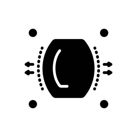 Ilustración de Icon for dispersion,spread - Imagen libre de derechos