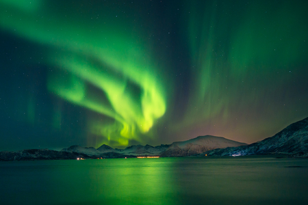 Foto per northern Lights - Immagine Royalty Free