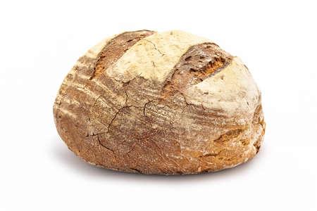 Foto de large bread isolated on white - Imagen libre de derechos