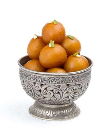 Foto de Indian Traditional Sweet Food Gulab Jamun - Imagen libre de derechos