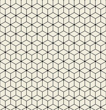 Illustration for Vector seamless pattern. Modern stylish texture. - Royalty Free Image