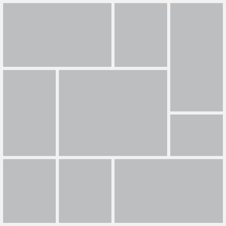 Ilustración de Templates collage frames for photo or illustration. - Imagen libre de derechos