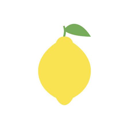 Ilustración de Lemon simple icon design. - Imagen libre de derechos